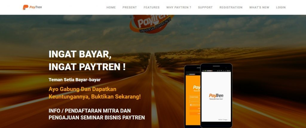 Landing Page Paytren